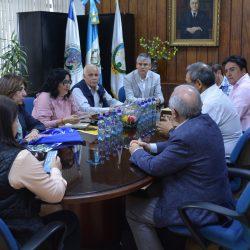 Reunión en Decanato de Ingeniería con Delegados de Universidades Españolas